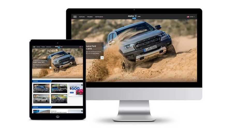 Motor1.com amplia sua presença global com o lançamento da edição Latina