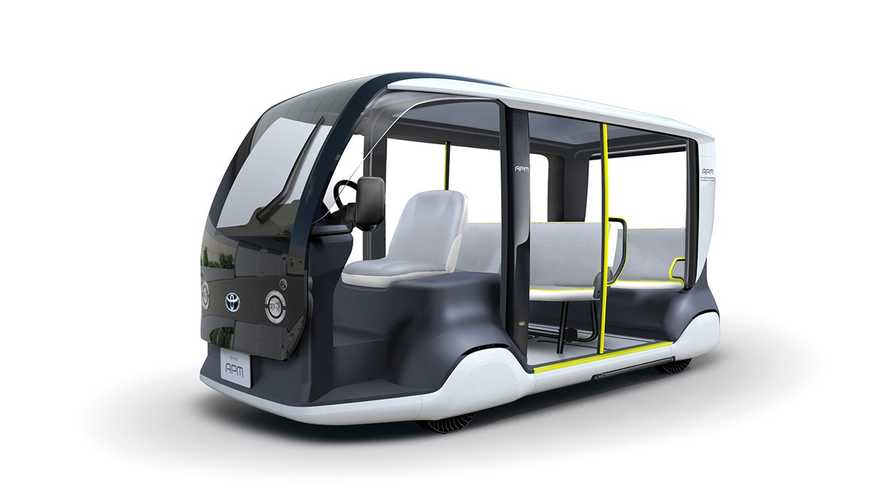 Toyota Unveils Electric Accessible People Mover For Olympic Games