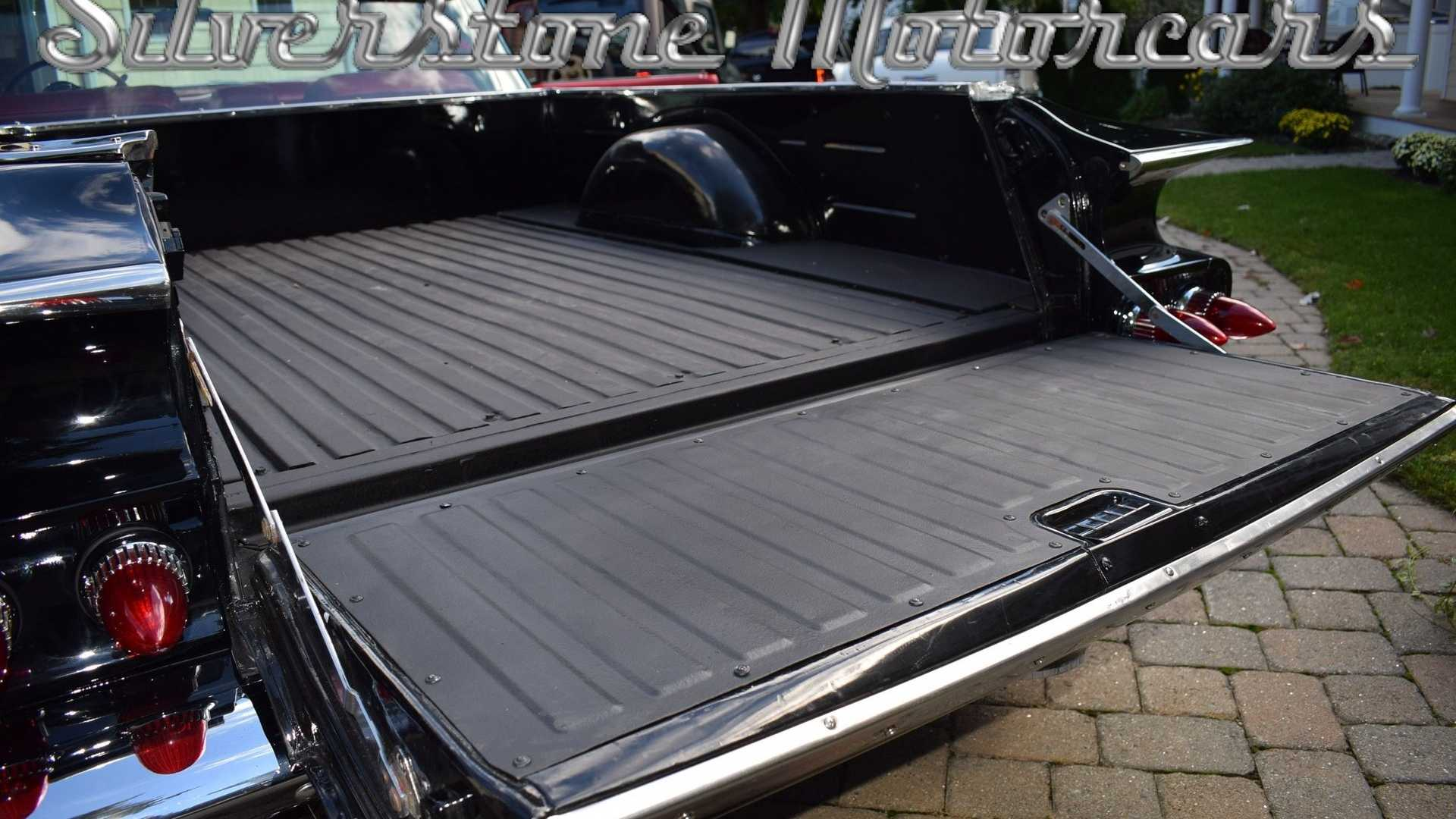 "[""Lustrous Black 1960 Chevrolet El Camino Pickup Resto Up For Grabs""]"