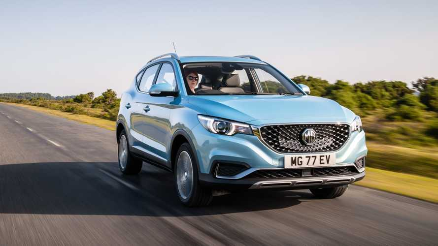In 2019, 5% of MG sales in UK were electric cars
