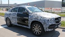 mercedes benz gle coupe spy