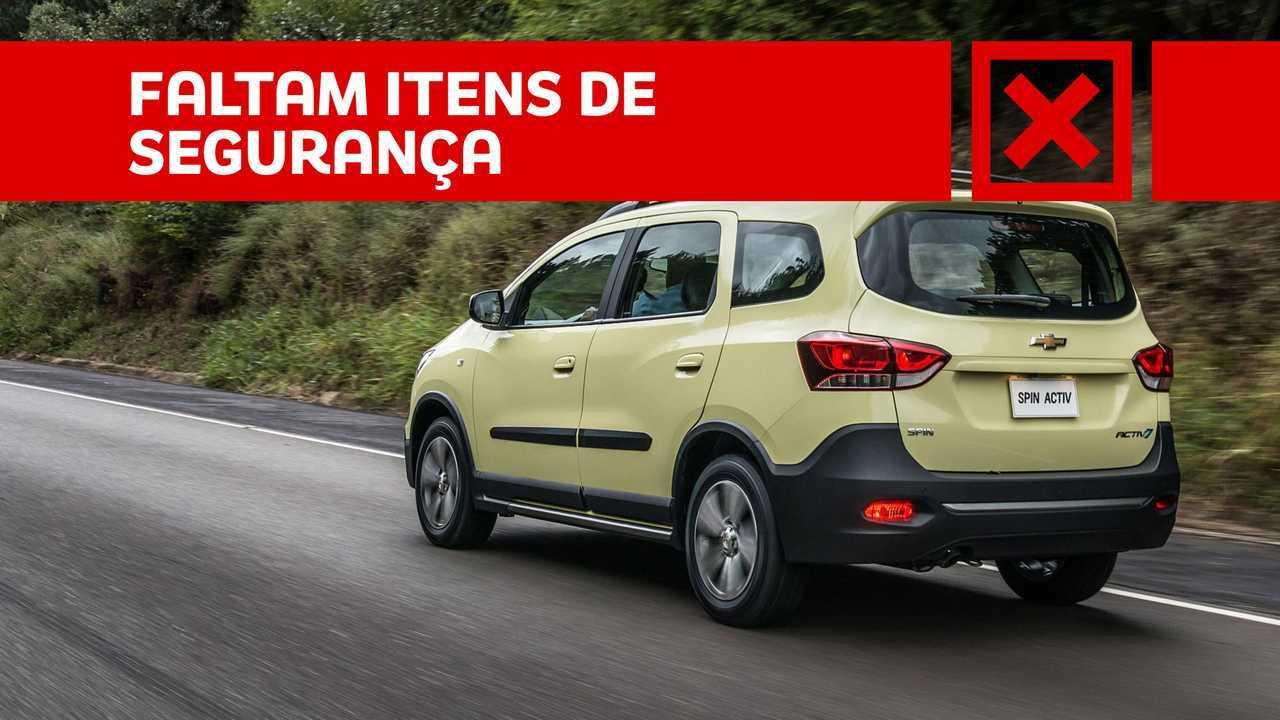 Chevrolet Spin Activ7 - Prós e Contras