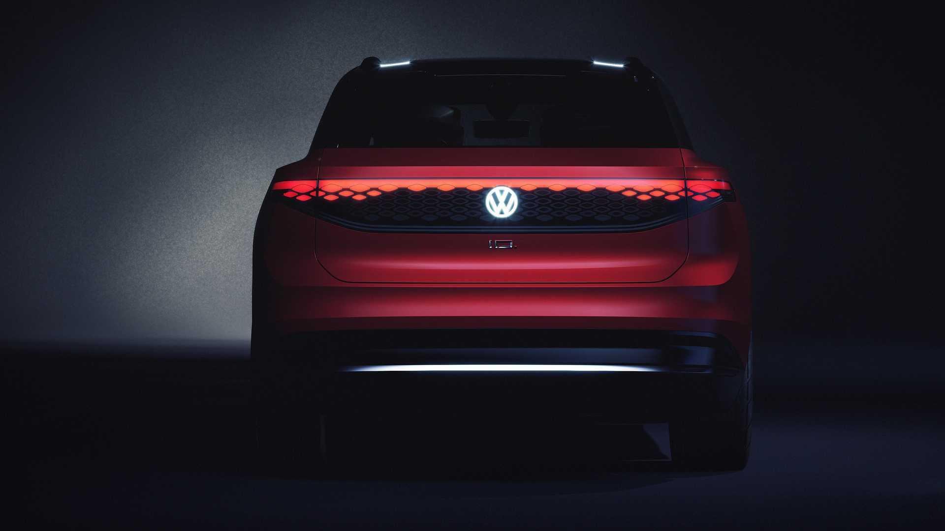 VW показал самый большой электрокроссовер I.D. Roomzz