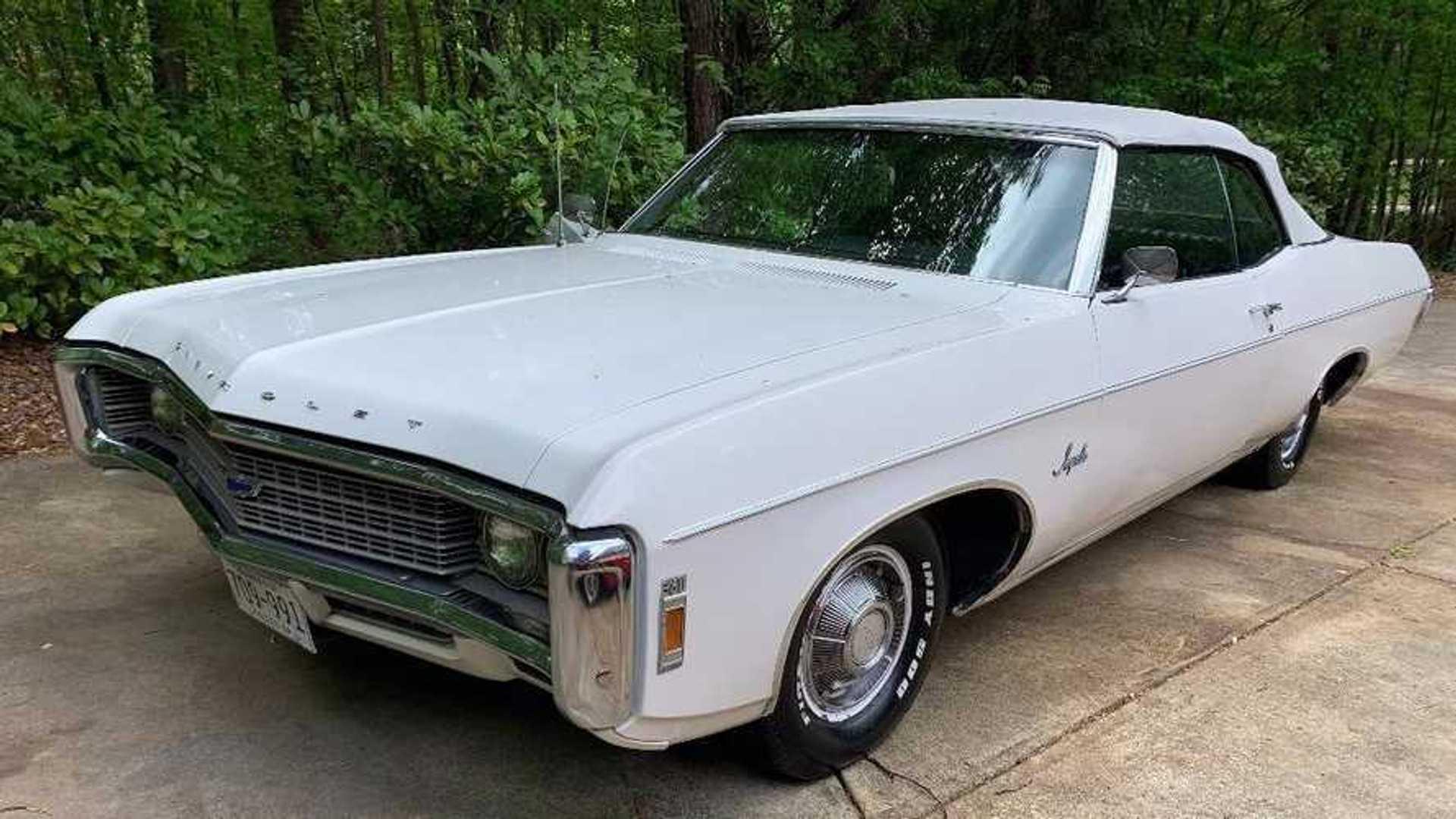 """[""""1969 Chevrolet Impala""""]"""