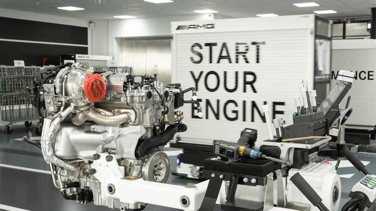Mercedes-AMG 2,0 Liter Vierzylinder-Turbomotor 2019