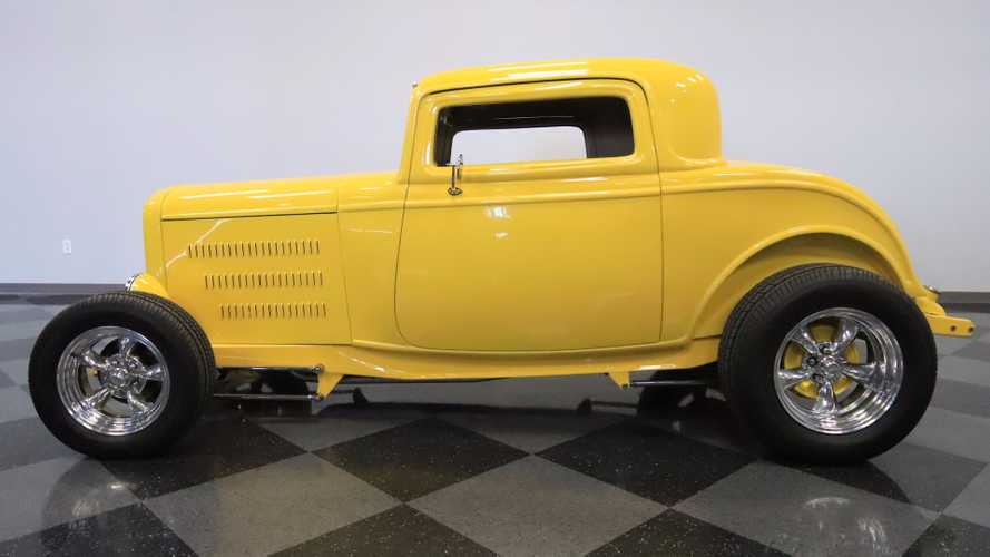 Tear up the street with this 1932 ford highboy roadster