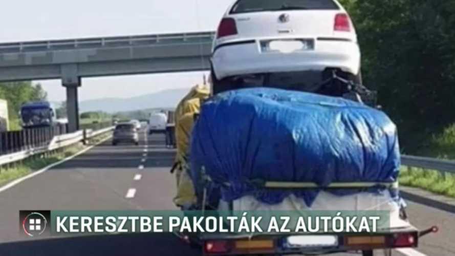 Egészen unortodox szállítási módok a magyar autópályákon