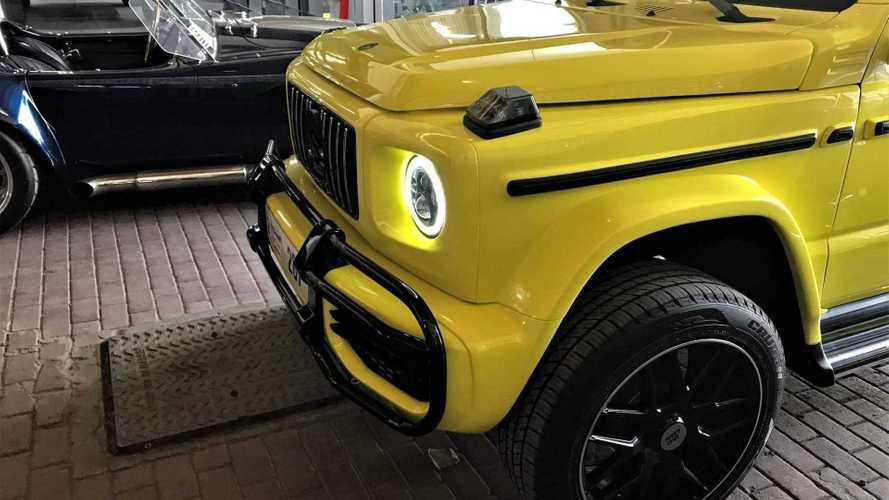 La Suzuki Jimny che si crede una Mercedes G63 AMG