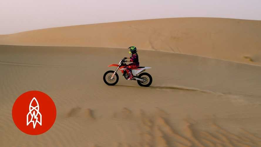 Go Play In The Sand With This Bad-Ass Lady Racer