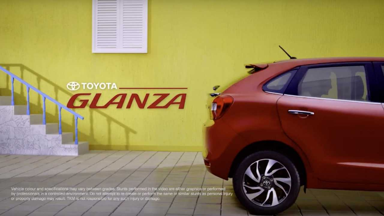 Toyota Glanza teaser