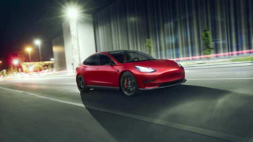 Novitec accentue l'aspect sportif de la Tesla Model 3