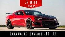 Camaro ZL1 1LE Hızlanma Videosundan Ekran Görüntüleri