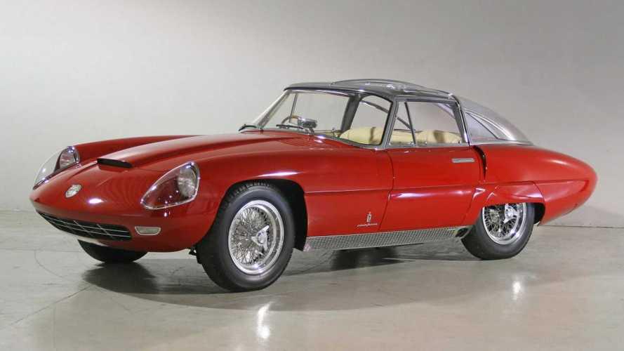 Prototipos olvidados: Alfa Romeo 6C 3000 CM Superflow IV (1960)