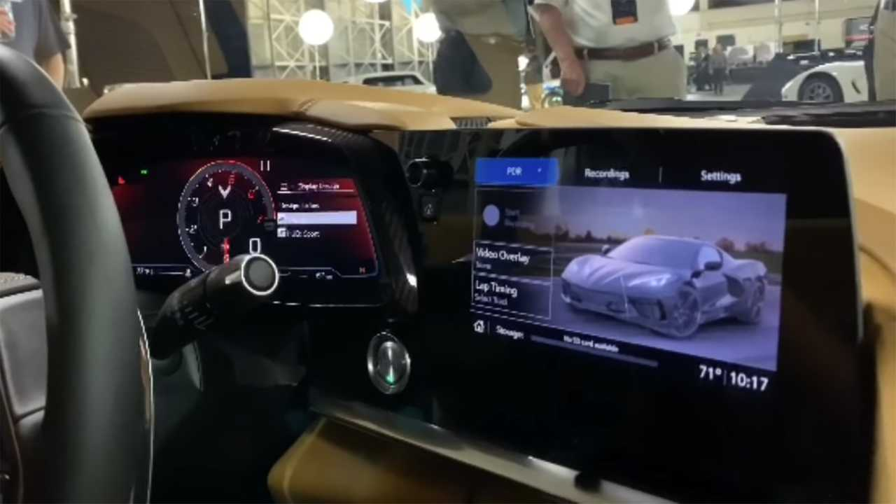 2020 Corvette Infotainment Walkthrough Reveals Graphics, Menus