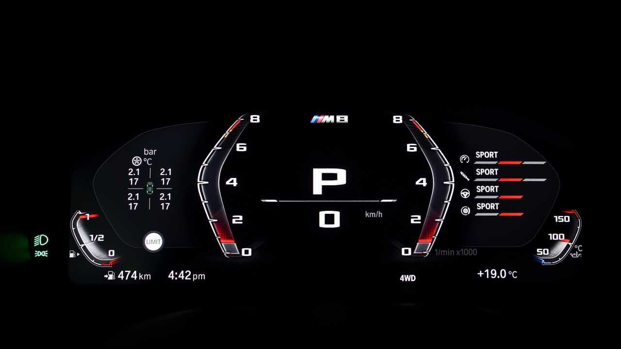 2020 BMW M8 Teased With M Mode, New Brake Technology