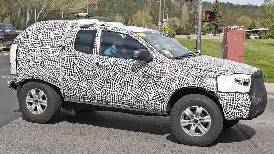 Ford Bronco Spied Revealing Front Axle From Underneath