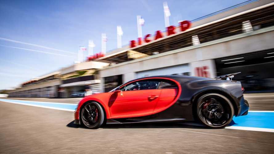 Bugatti emmène les Chiron et Chiron Sport sur le Paul Ricard