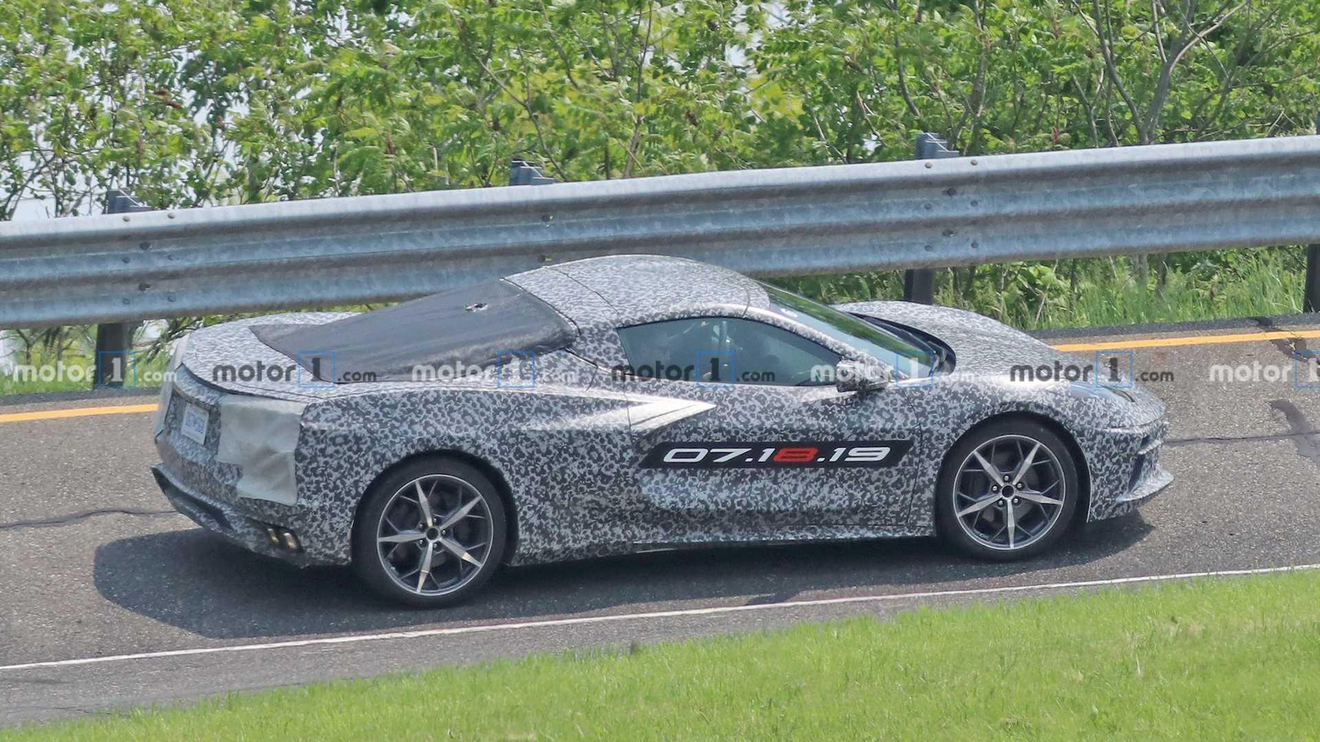 2019 - [Chevrolet] Corvette C8 Stingray - Page 4 C8-chevrolet-corvette-spy-photo