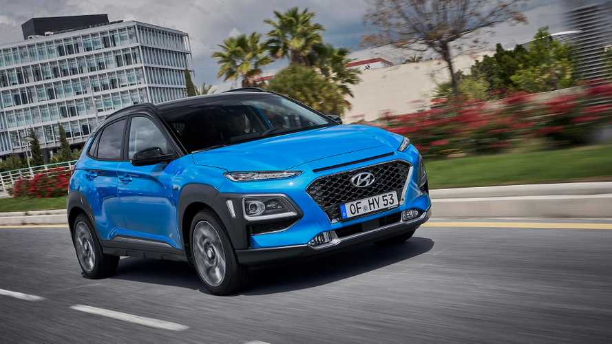 Hyundai's new Kona Hybrid costs less than £22,500