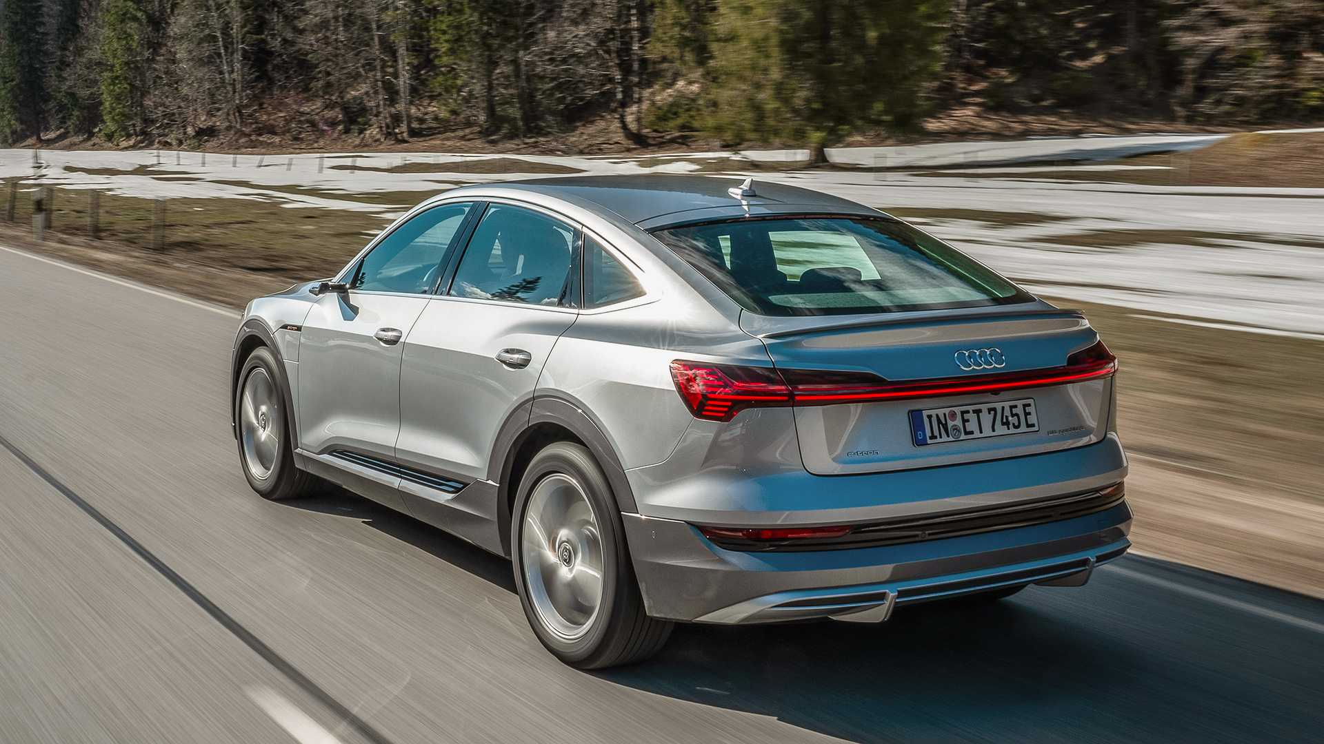 2020 audi e-tron sportback first drive review: slimmer