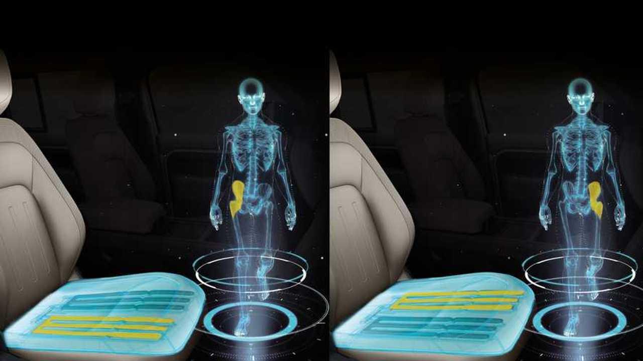 Massage-Sitz von Jaguar Land Rover