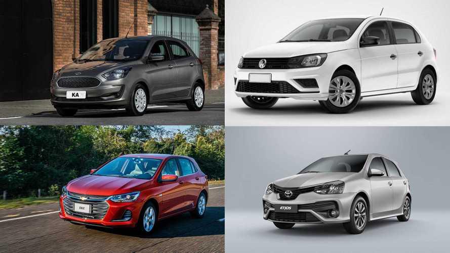 Lista: Os 10 carros automáticos mais baratos do Brasil