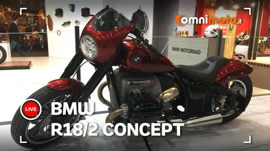 BMW R18/2, il debutto al Motor Bike Expo 2020