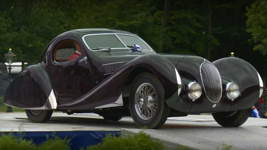 Smuggled 1938 Talbot Lago At The Middle of Legal Storm