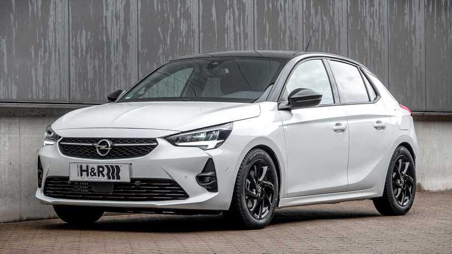 H&R-Sportfedern für den neuen Opel Corsa F