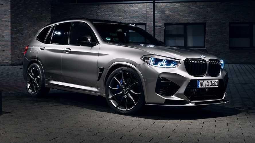 El BMW X3 M Competition alcanza los 600 CV con AC Schnitzer