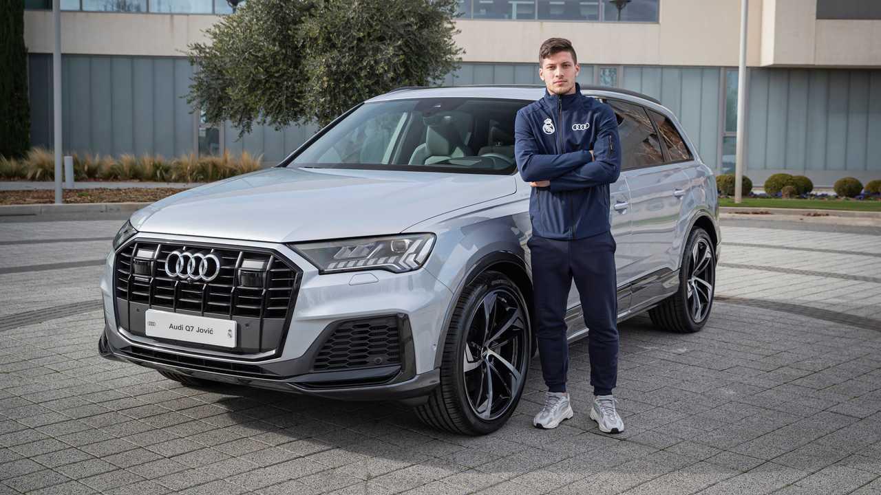 Luka Jovic - Audi Q7