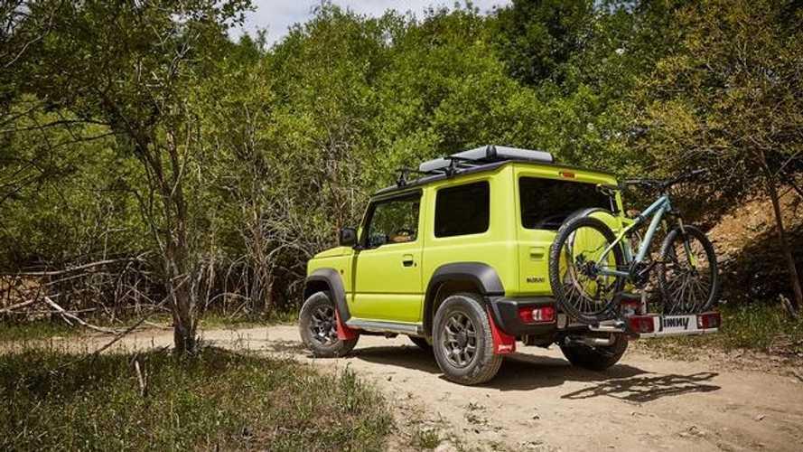 El Suzuki Jimny 2019 luce más atractivo con sus accesorios originales