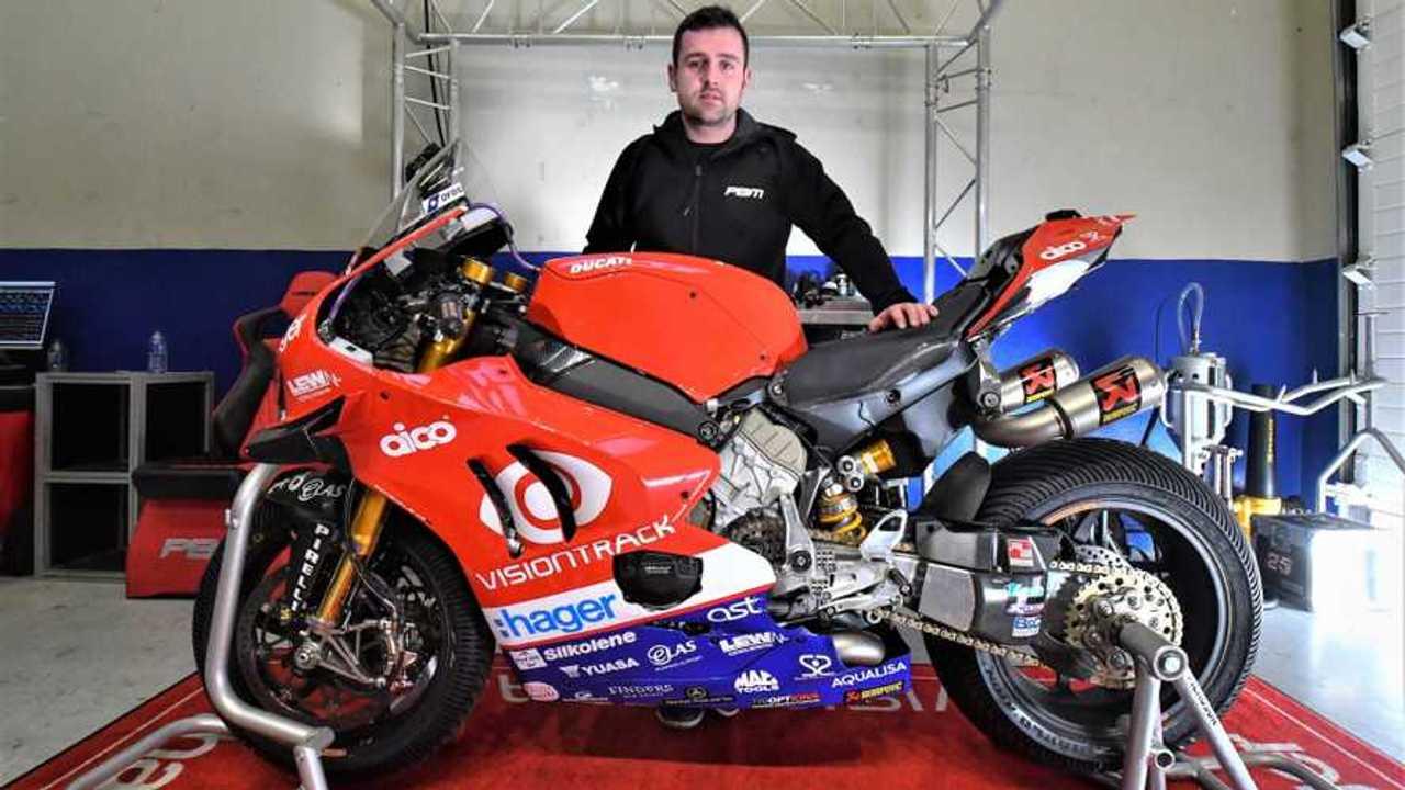 Michael Dunlop Ducati