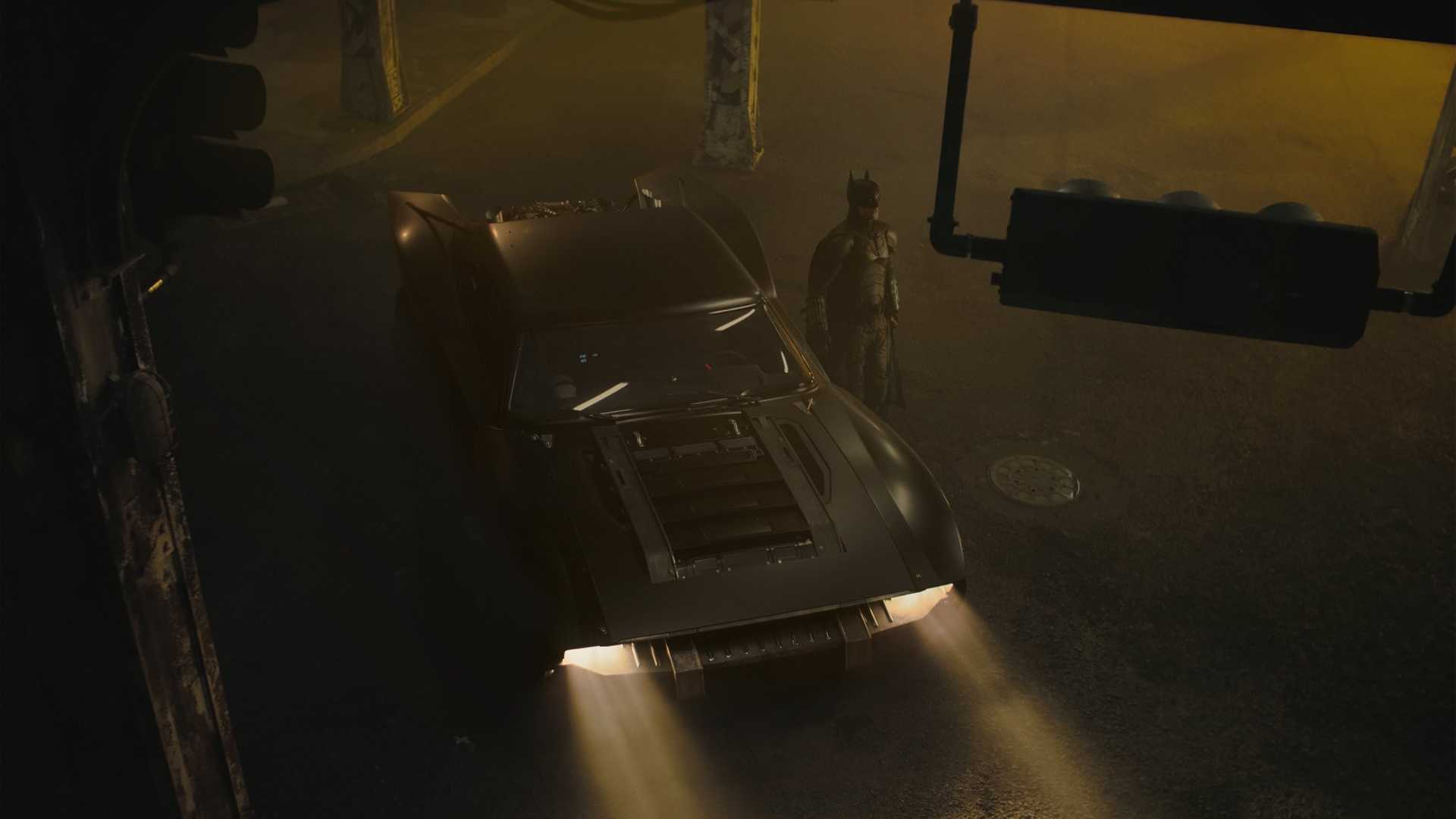 Batmobile For Robert Pattinson's Batman