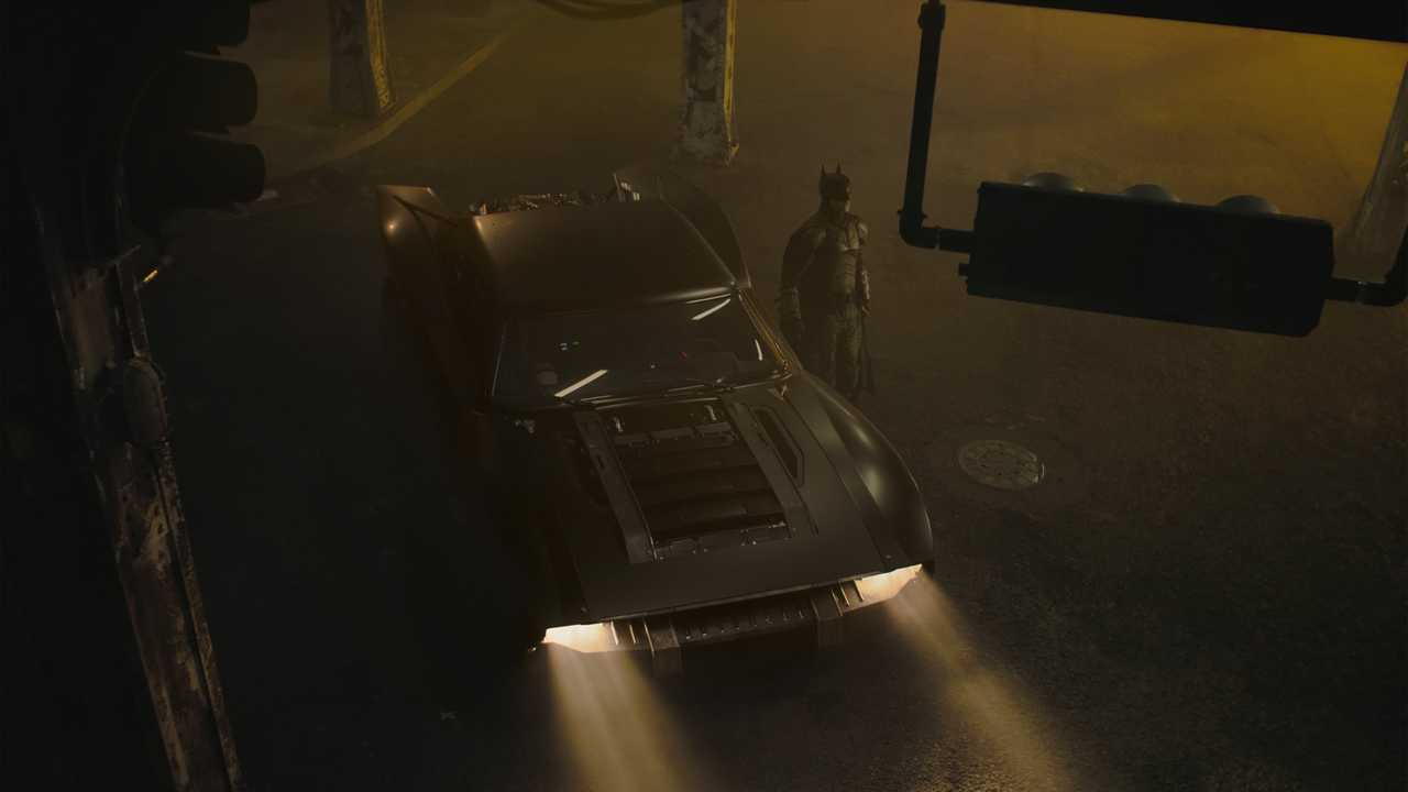 Batmobile Robert Pattinson Batman