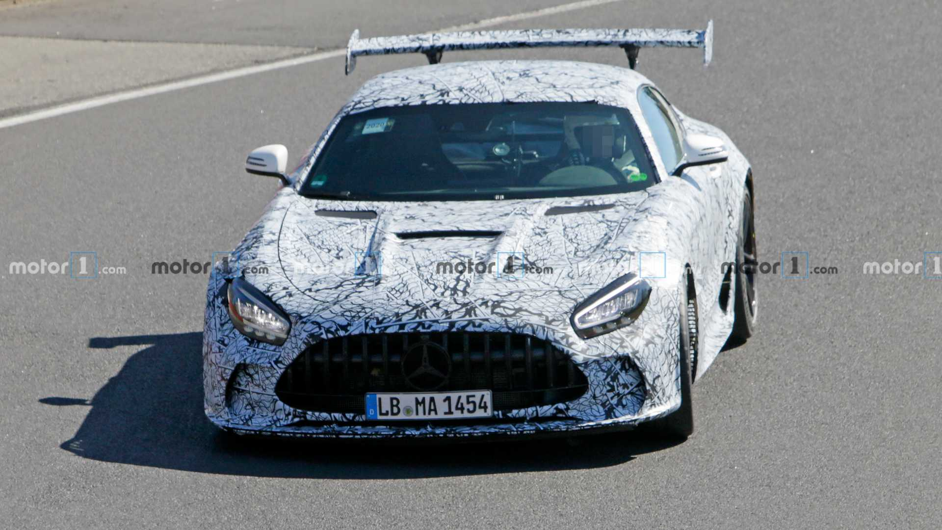 Mercedes-AMG GT Black Series reportedly has 711 bhp