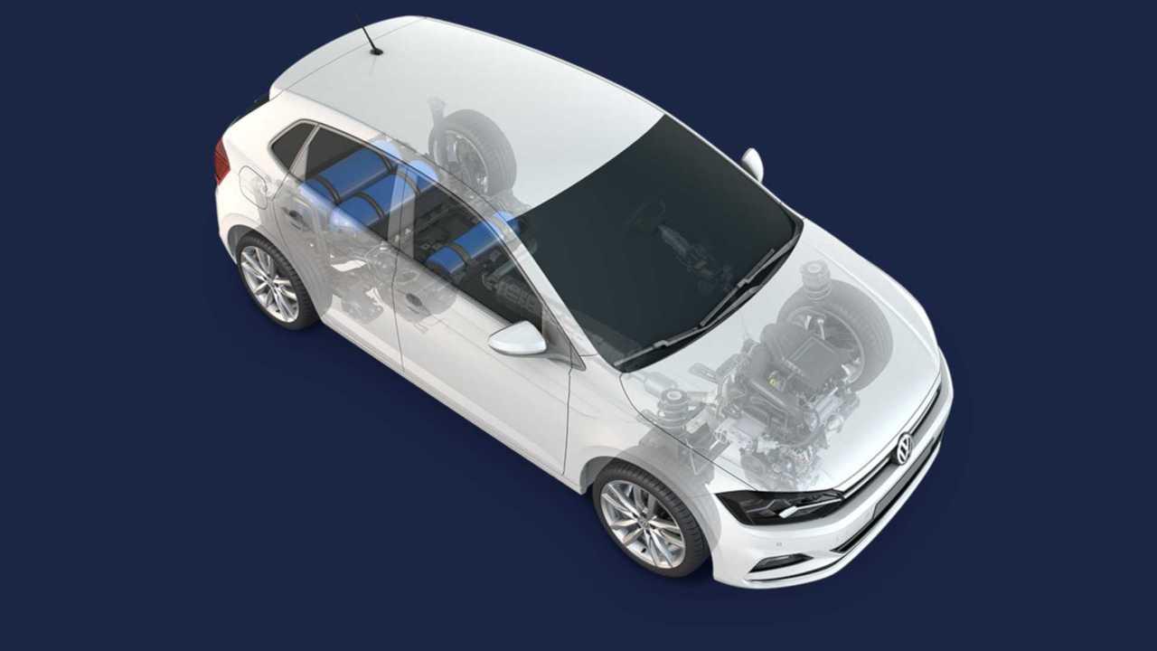 VW Polo TGI (Röntgenbild)