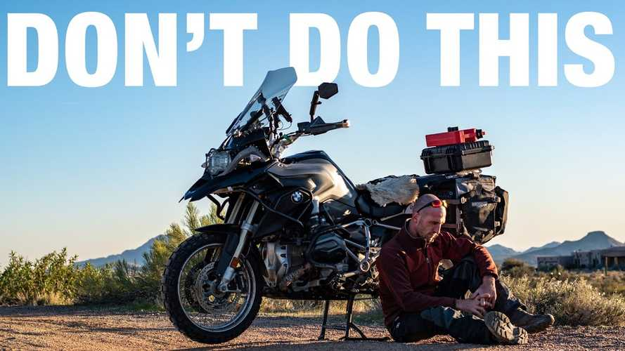 Top 5 Mistakes Of Motorcycle Travel