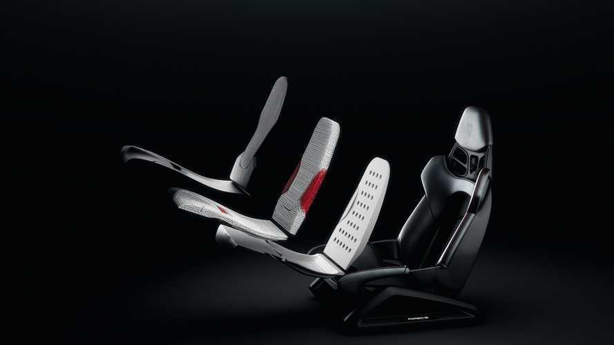 Porsche estrena tecnología de impresión 3D para sus asientos