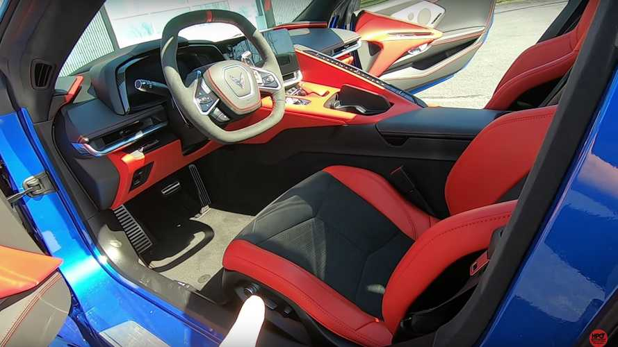 Mid-Engine 2020 Chevy Corvette 3LT Interior Analyzed On Video