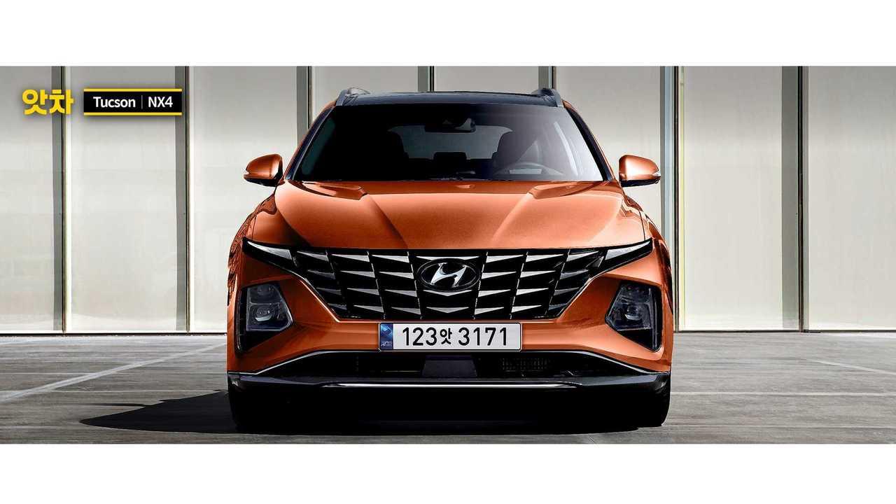 Hyundai Tucson 2021 - Nova projeção