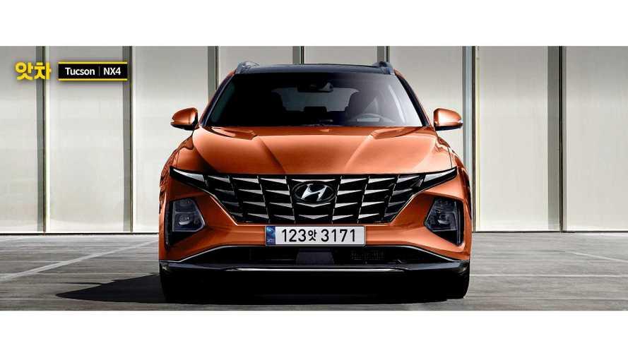 Novo Hyundai Tucson 2021 tem design polêmico adiantado em projeção