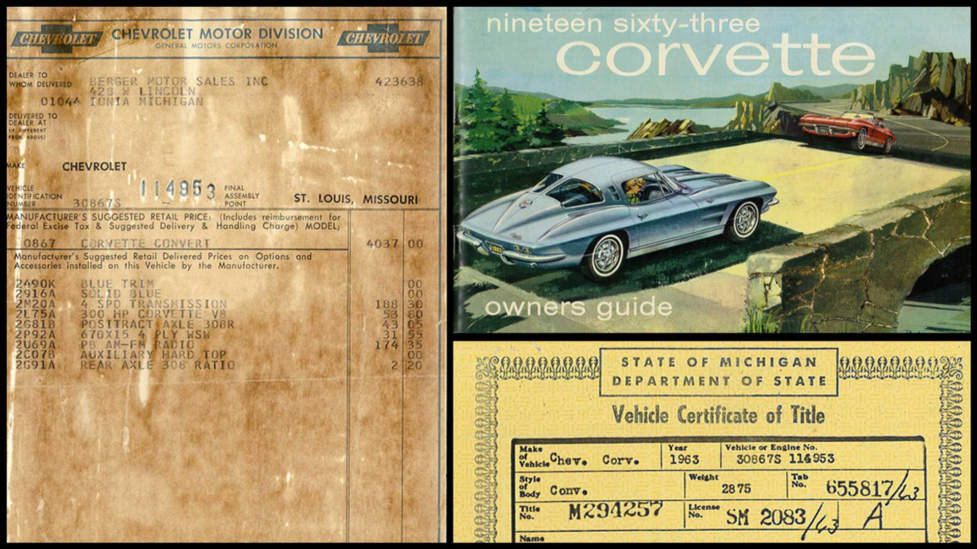 "[""Enter To Win This Numbers-Matching 1963 Chevrolet Corvette""]"