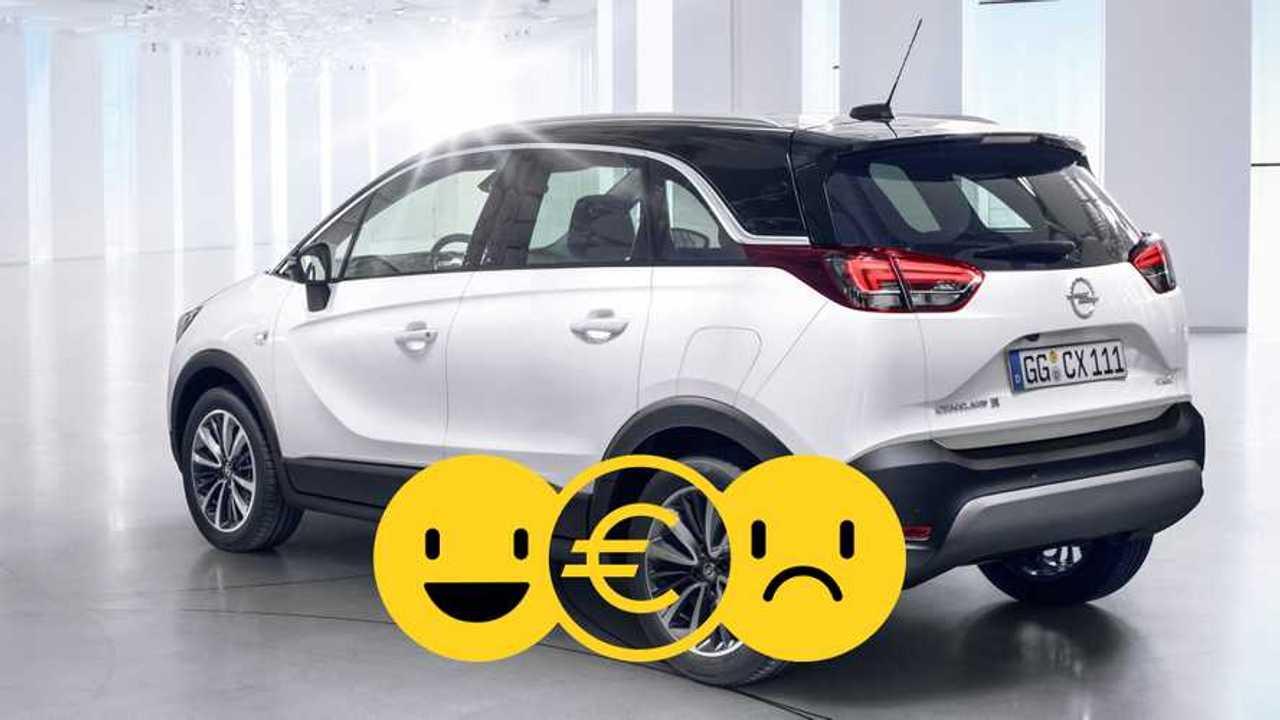 Copertina Promozione Opel Crossland X