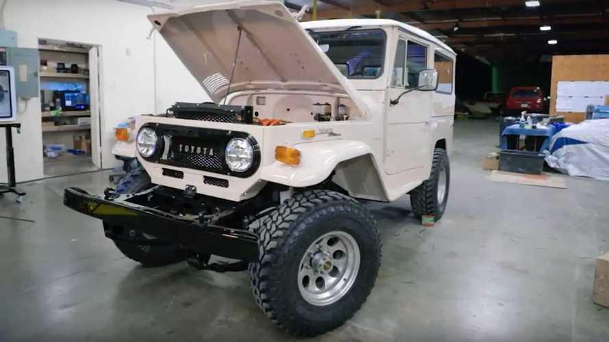 Toyota Land Cruiser FJ40 EV