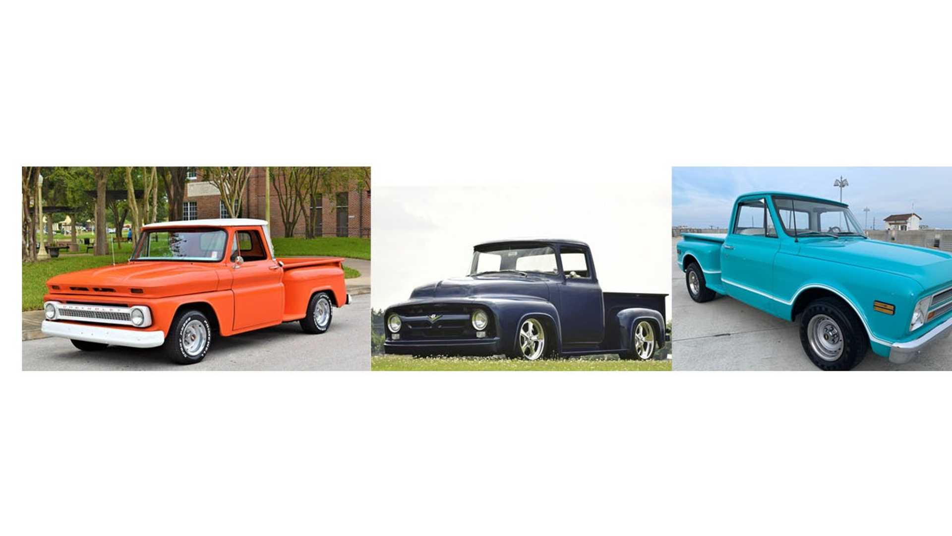 """[""""Which Vintage Pickup Truck Would You Choose?""""]"""