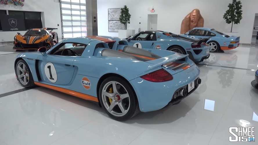 Must-see IKONICK car collection has Apollo IE, Gulf-liveried 959