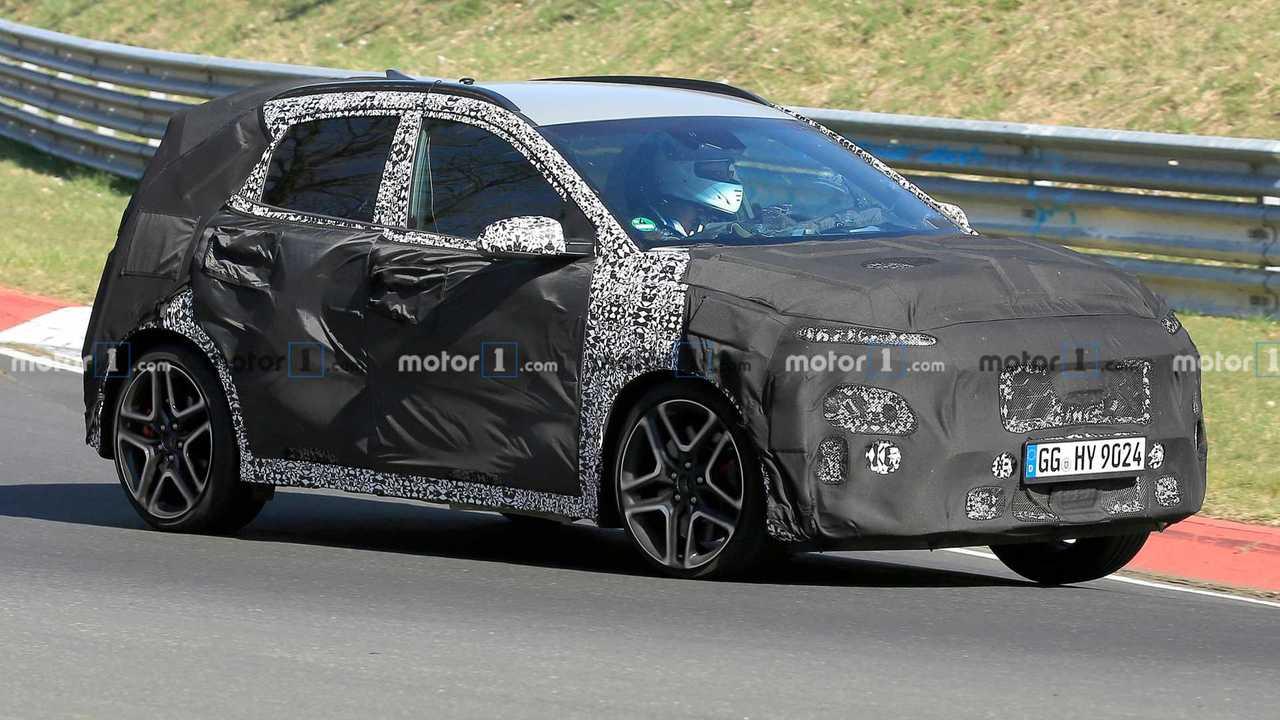 Hyundai Kona N Spy Shots
