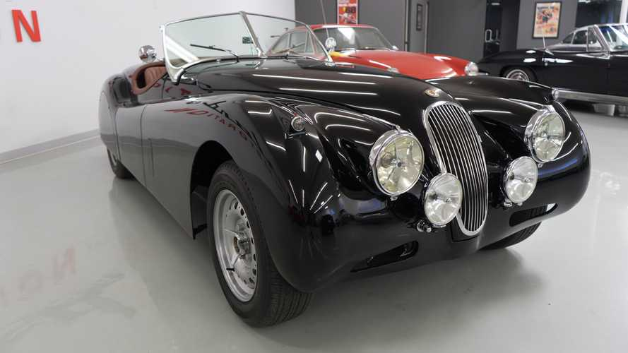 Own The Road In This 1954 Jaguar XK120