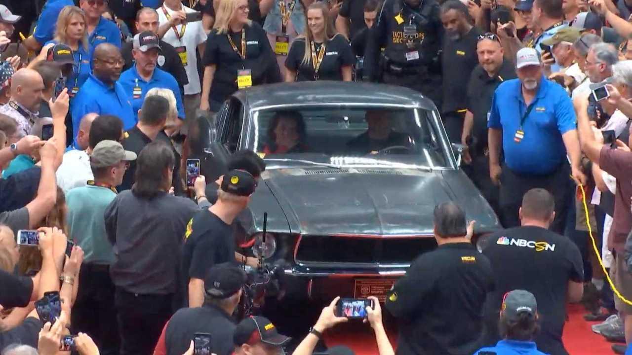 1. 1968 Mustang GT Bullitt Hero Car - $3.4M